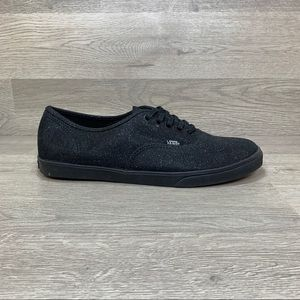 Vans Off The Wall Black Sparkle Canvas Sneaker